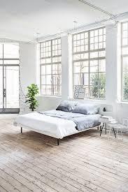 interior design furniture minimalism industrial design. Fine Minimalism All White Loft Bedroom With Minimalistic Industrial Design  Pattonmelo To Interior Design Furniture Minimalism Industrial E