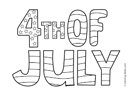 Coloring pages provide children with the opportunity for self expression and improves their coordination and small motor skills. July 4th Coloring Page Coloring Home