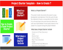 What Is Tamplate Project Charter Template How To Create Projectcubicle