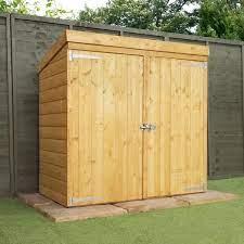garden storage wooden storage sheds shed