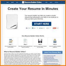 Free Resume Website Builder Online Resumes Resume Website Builder Samples Templates Marketing 6
