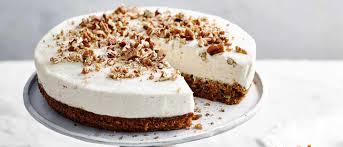 Carrot Cake Cheesecake Recipe Olivemagazine