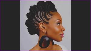Tissage Idees Coiffure Afro Tresses Vanille Femme Africaine