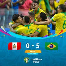 Perù 0-5 Brasile video completo - Copa America 2019
