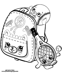 Shopkins Petkins Coloring Pages Getcoloringpagescom