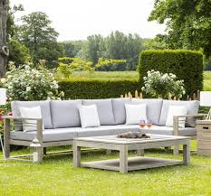 waterproof cushions for outdoor furniture. Teak Garden Lounge Set Modular Corner Sofas Gas Fire Pit Coffee Table U0026 Armchair Waterproof Cushions For Outdoor Furniture
