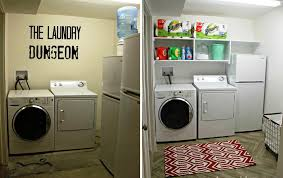 Basement Laundry Room Makeover Ideas
