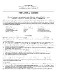 Totally Free Resume Templates Extraordinary Instructional Designer Resume Template Instructional Design Resume