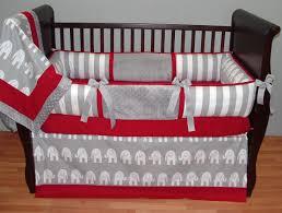baby girl elephant bedding and grey