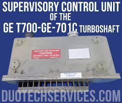 Supervisory Control Unit of the GE T700-GE-701C Turboshaft