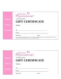 Gift Certificate Wording Sample Gift Voucher Wording