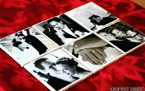 i making tile coasters diy resin photo using