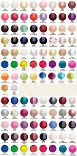 Gelish Gel Nail Polish Color Chart, Gelish Color Chart 90 Colors ...