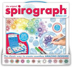 Deluxe Design Spirograph Award Winning Deluxe Design Kit 45 Piece Set