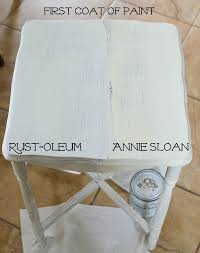 Annie Sloan Chalk Paint Vs Rust Oleum Chalked Paint