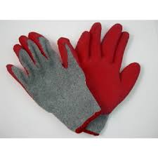 garden gloves. Buy Right® Latex Dipped Garden Gloves Large