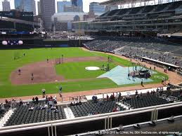 Target Field View From Delta Sky360 Club P Vivid Seats