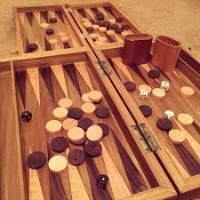Making Wooden Board Games How to Make a Wooden Backgammon Board Board Woodworking and 2