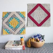 Double Diamond Quilt Block Tutorial | Tutorials | Pinterest ... & Double Diamond Quilt Block Tutorial Adamdwight.com