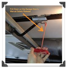 how to manually open a garage doorDiscount Garage Door  How to Open Garage Door in a Power Outage