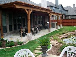 outdoor patio designs for the backyards backyard covered ideas zapatalab info within plans design 17