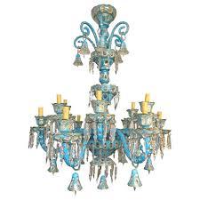 blue chandelier antique bohemian hand cut crystal blue chandelier for blue glass chandelier lights dark