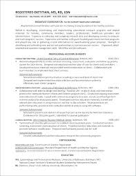 Registered Dietitian Resume Enchanting Nutrition Cover Letter Nutritionist Sports Nutrition Cover Letter