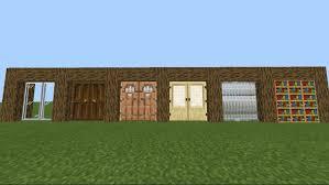 belydoors 3x3 doors minecraft pe