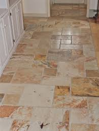 Flooring For Kitchen And Bathroom Brown Tiled Kitchen Floors Brown Marble Tile Kitchen