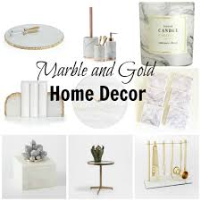 Small Picture Trend Spotting Gold and Marble Decor Jenn and Tonic
