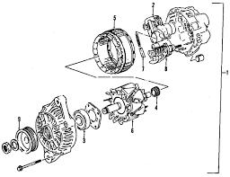 parts com® chevrolet tracker alternator oem parts 2003 chevrolet tracker base l4 2 0 liter gas alternator