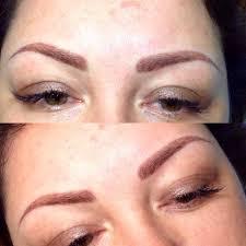 этапы заживления после татуажа или перманентного макияжа бровей по