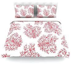 anchobee c red white duvet cover cotton queen contemporary duvet white super king size duvet covers
