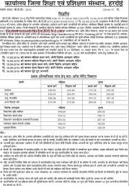 Up Btc 2015 2016 Counselling Merit List Cut Off Marks Upbtc Seat