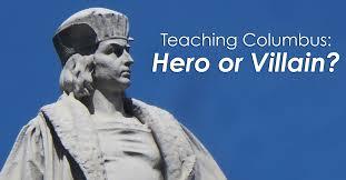essay on christopher columbus the hero