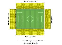 Molineux Stadium Seating Chart Football League Ground Guide Mansfield Town Fc One Call