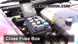replace a fuse 2005 2013 chevrolet corvette 2006 chevrolet 6 replace cover secure the cover and test component
