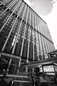two penn plaza and entrance to madison square garden new york city usa