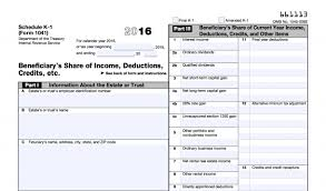 tax form 1041 instructions form 1041 k 1 instructions 3 11 14 income tax returns for estates