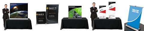 Table Top Product Display Stands Awesome Table Top Banner Stands TradeShowDisplayPros