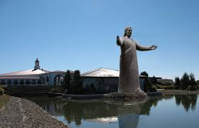 Rock Sculpture lux mundi statue 7515 by xevi.us