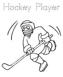 Small Picture Hockey Coloring Pages Player Sport Coloring pages of