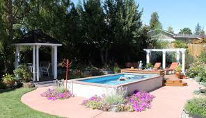Pool Landscape Design Top Above Ground Pool Landscaping Ideas Design Decors Inspirations