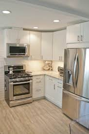 small off white kitchens. Simple Small IKEA Adel Cabinetry In Off White Cambria Countertops Bellingham And A  Sandy Gray Tile Small White KitchensKitchen  With Off Kitchens M