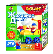 Игровой <b>набор ЭКО Bauer</b> Ж/Д 32 эл в коробке купить в ...
