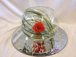 Fish Bowl Decorations For Weddings Fish Bowl Wedding Decorations 12