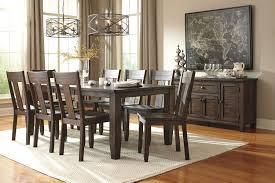 ashley dining room table set. 9-piece rectangular dining table set ashley room