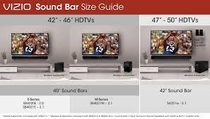 vizio tv sizes. vizio soundbar size guide tv sizes d