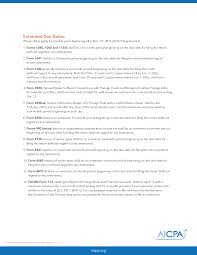 Aicpa Due Date Chart 2018 Irs Changes Due Dates For Certain Tax Returns Withum