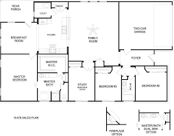 Beautiful Best bedroom ranch floor plans for Hall  Kitchen    Best bedroom ranch floor plans